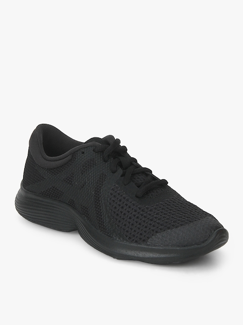 Nike Boys REVOLUTION 4 Black Running Shoes