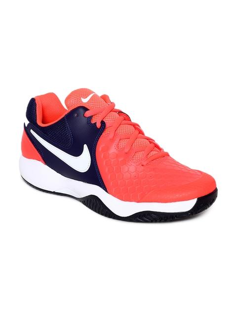 Nike Men Red AIR ZOOM RESISTANCE Tennis Shoes