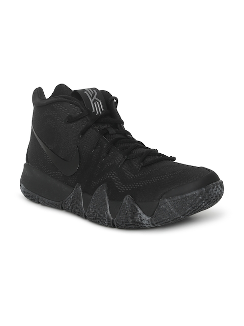 Nike Men Black Kyrie 4 Basketball Shoe