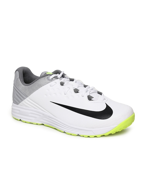 NIKE Men White POTENTIAL 3 Cricket Shoes
