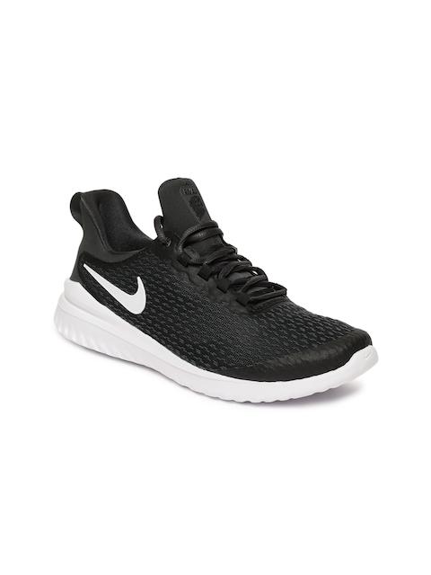 Nike Women Black Renew Rival Running Shoes