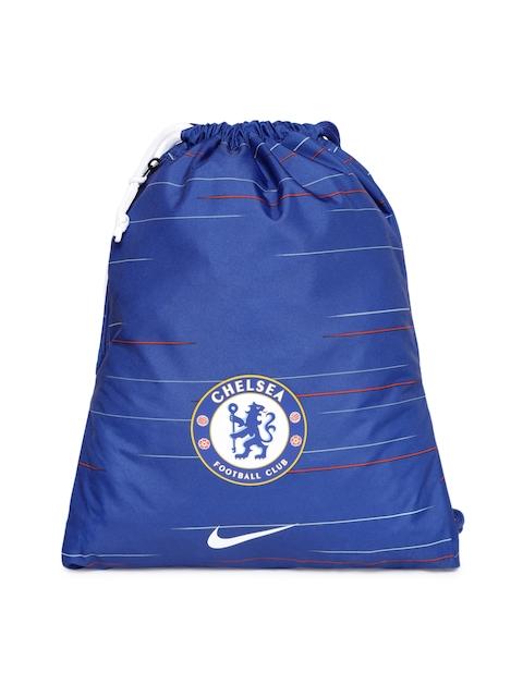 Nike Unisex Blue Graphic Backpack