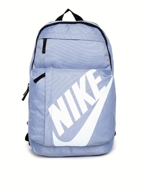 Nike Unisex Blue Brand Logo Backpack