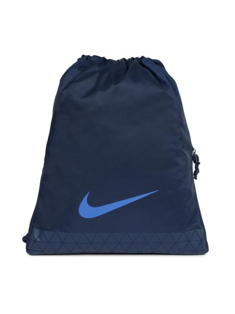 Nike Men Blue Solid Backpack