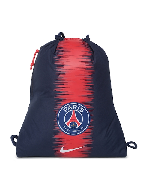 ad7bc952a9cb Nike Unisex Navy Blue   Red Graphic NK STADIUM PSG GMSK Backpack