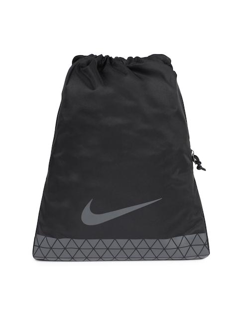 Nike Men Black Brand Logo Backpack