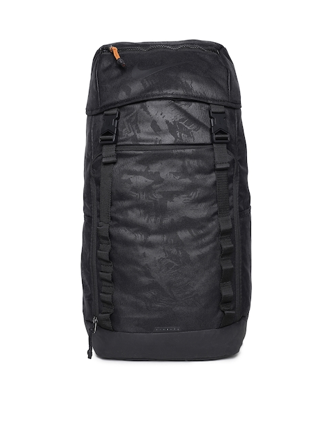 Nike Men Black Solid Backpack