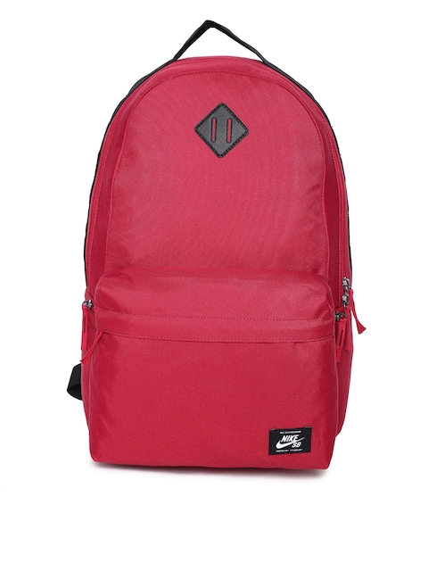 Nike Men Red Solid Backpack