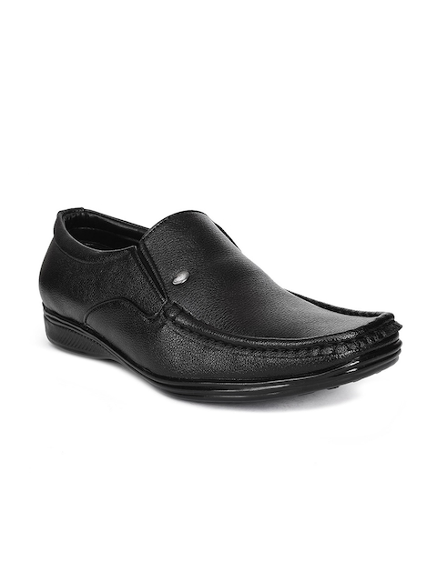 Action Men Black Formal Slip-On Shoes