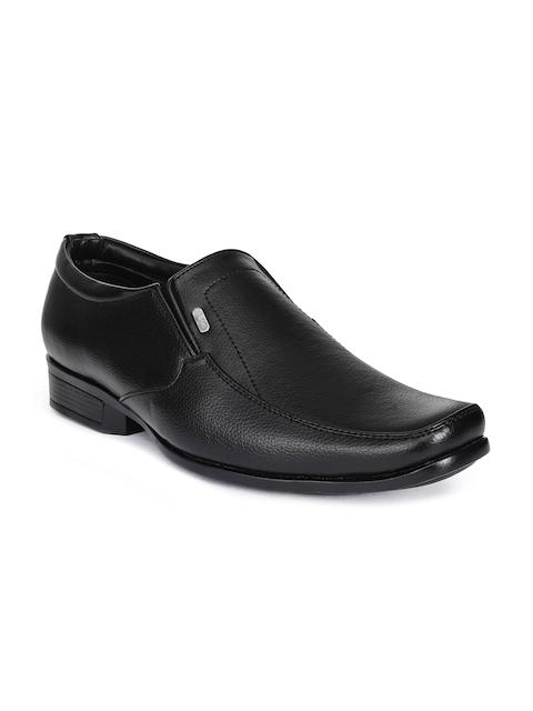 Action Men Black Formal Slip-On Shoes