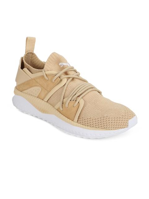 Puma Men Beige TSUGI Blaze evoKNIT Running Shoes
