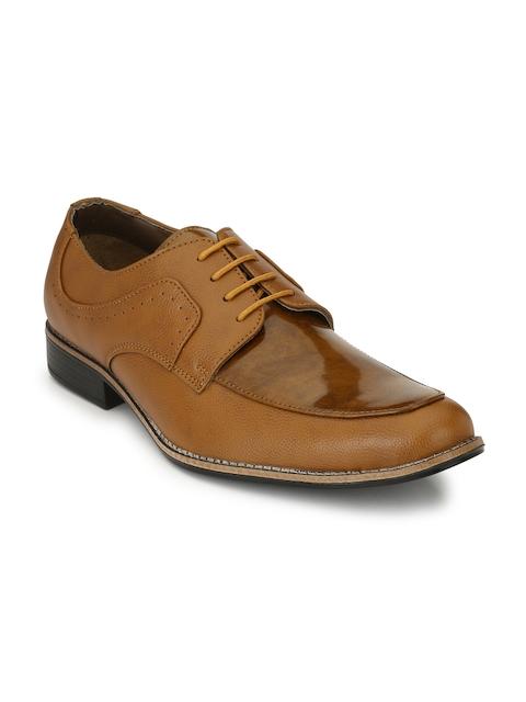 Sir Corbett Tan Formal Derby Shoes