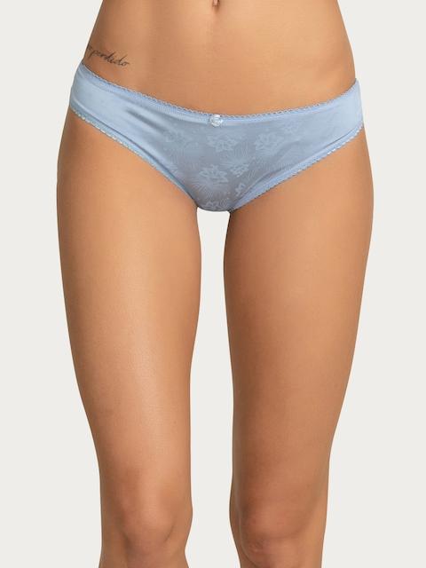 Zivame Women Blue Bikini Briefs ZI2199FASHZBLUE
