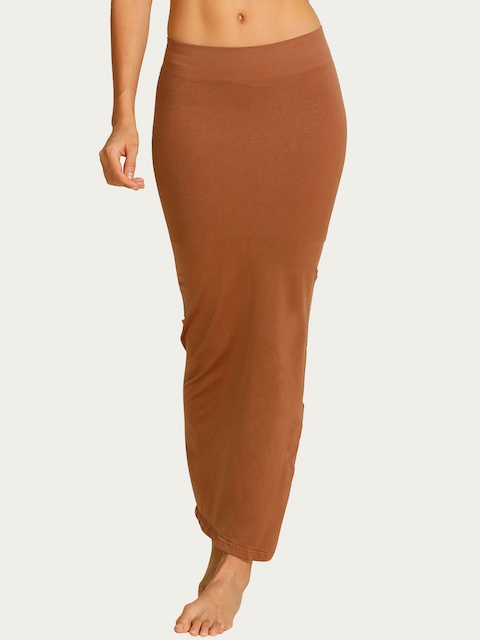 Zivame Brown Mermaid Saree Shapewear