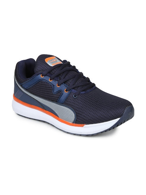 Columbus Men Blue Running Shoes