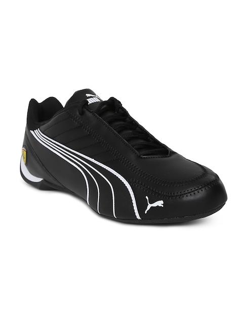 Puma Men Black Scuderia Ferrari Future Kart Cat