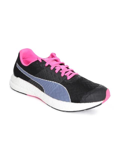 Puma NRGY Women Black Running Shoes