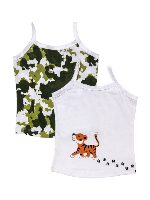 You Got Plan B Girls Pack of 2 Printed Camisoles