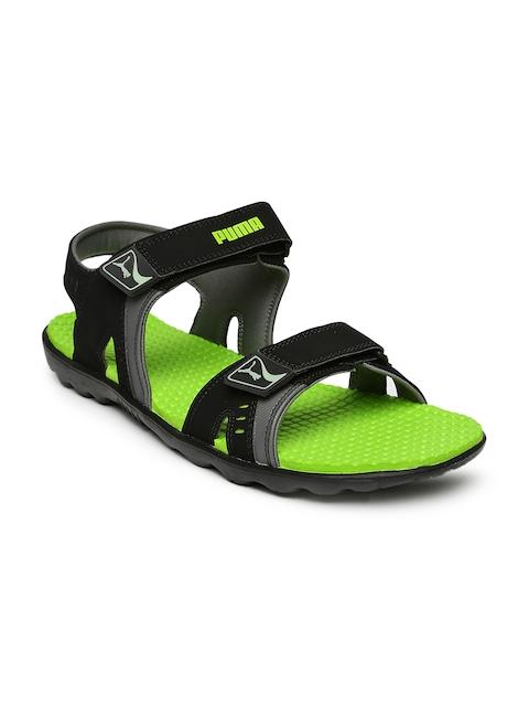 Puma Unisex Black Silicis Buck DP Sports Sandals