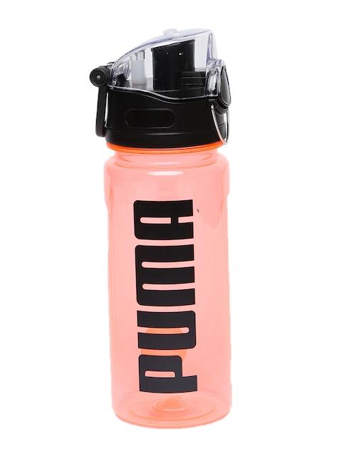 Puma Peach & Black Printed Water Bottle