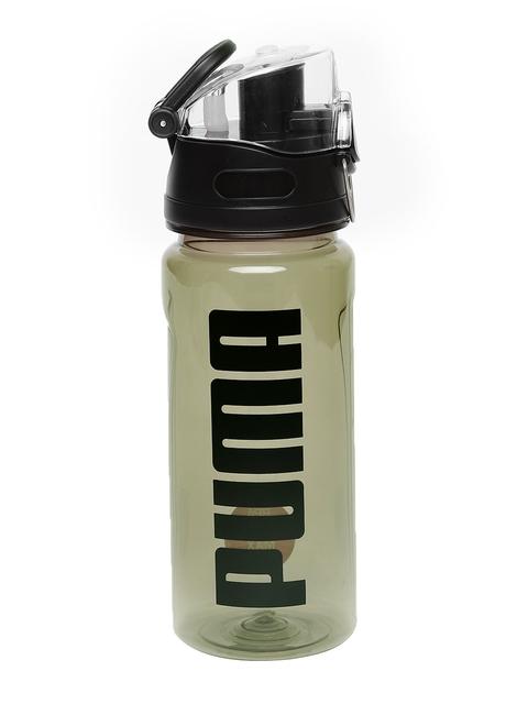 Puma Grey & Black Printed Water Bottle