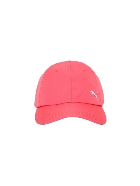 Puma Unisex Pink Solid Baseball Cap