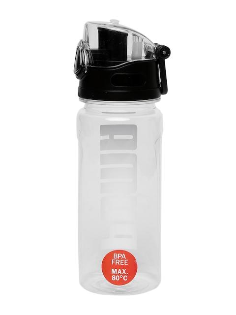 720a83063 30%off Puma Black Transparent Printed Water Bottle
