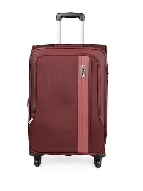 VIP Unisex Red CARTER 4W EXP 67 Medium Trolley Bag