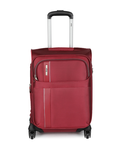 VIP Unisex Red TRYST 4W EXP STROLLY 55 Cabin Trolley Bag