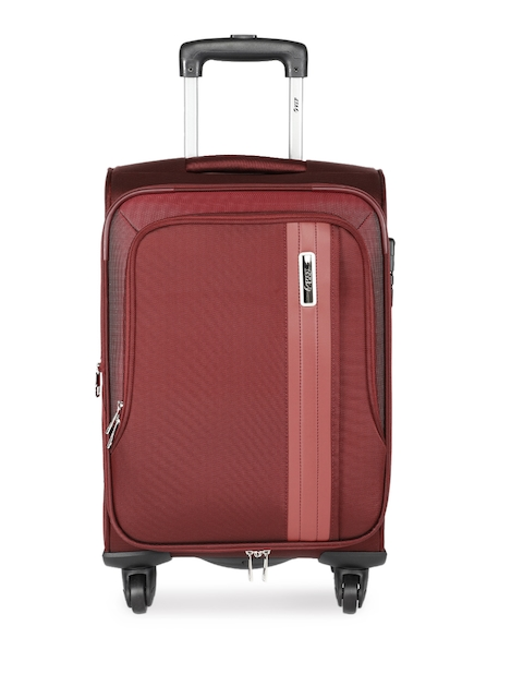 VIP Unisex Red CONQUER 4W EXP STROLLY 59 Cabin Trolley Bag