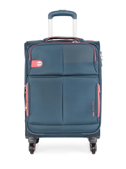 VIP Unisex Blue Modulus 4W EXP Strolly 59 Trolley Bag