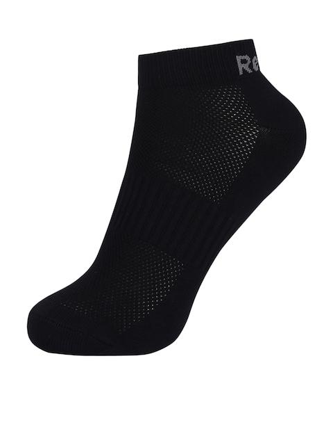 Reebok Women Black Ankle-Length Socks D93009