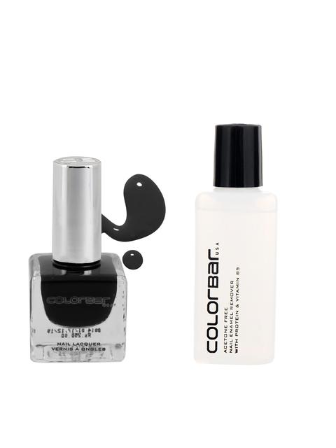 Colorbar Black Maze Nail Lacquer & Nail Enamel Remover
