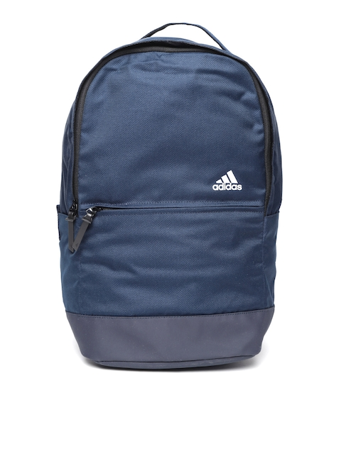 Adidas Men Navy Blue Solid CL Handle Web Backpack