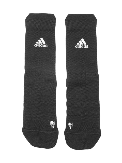 Adidas Unisex Black Solid ASK CR LC Above Ankle Socks