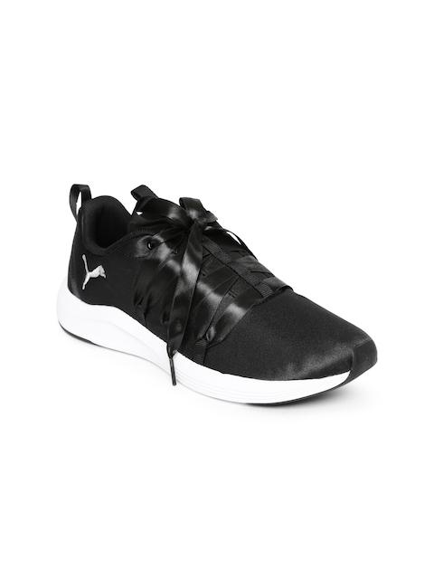Puma Women Black Prowl Alt Satin Wn s Running Shoes
