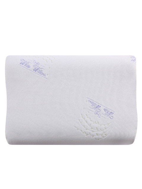The White Willow Blue Memory Foam Therapedic Pillow