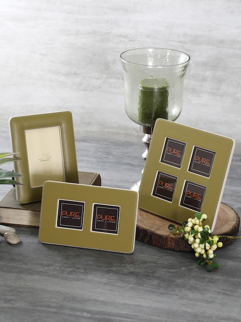 Pure Home and Living Olive Solid Photo Frame