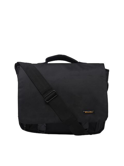 Travel Blue Unisex Black Laptop Bag