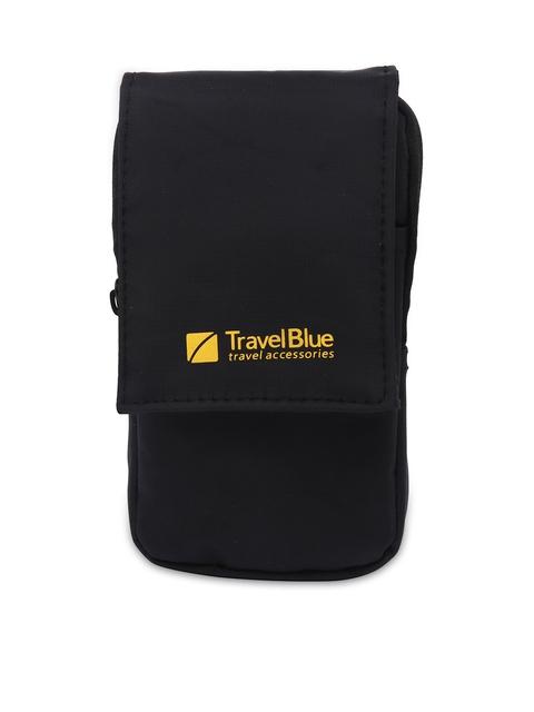 Travel Blue Black Smartphone Pouch