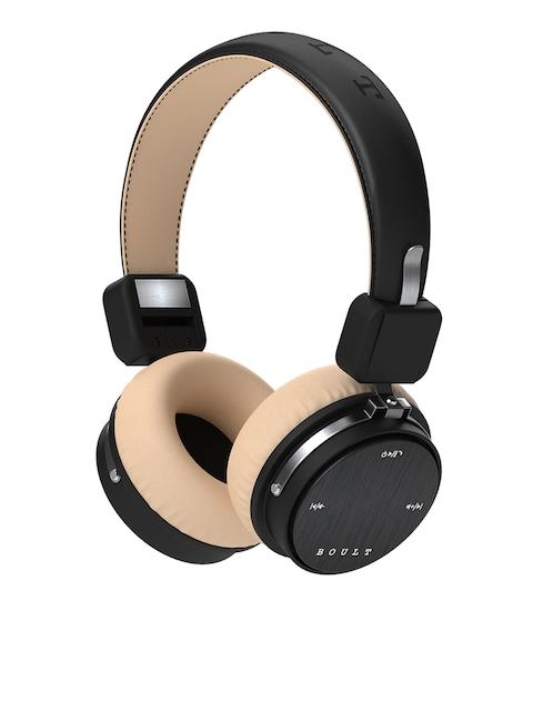 Boult Black & Beige Wireless Over Ear Headphones with Mic
