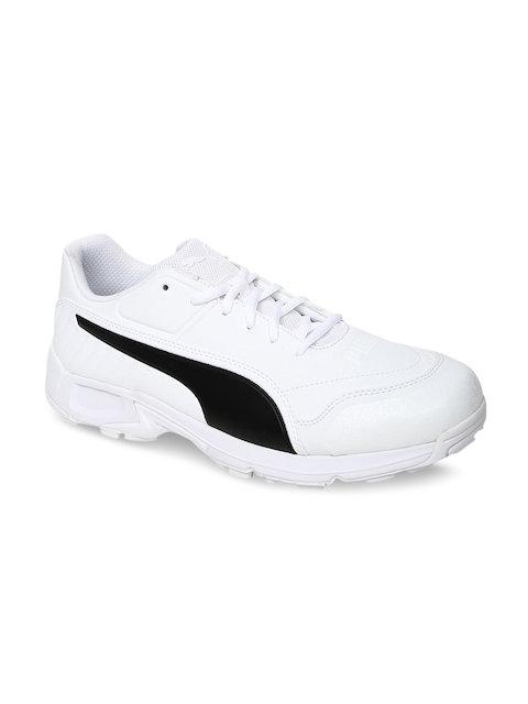 Puma evoSPEED 18.1 C Spike Men White Cricket Shoes