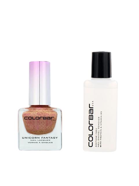 Colorbar Pack of Nail Lacquer & Nail Polish remover