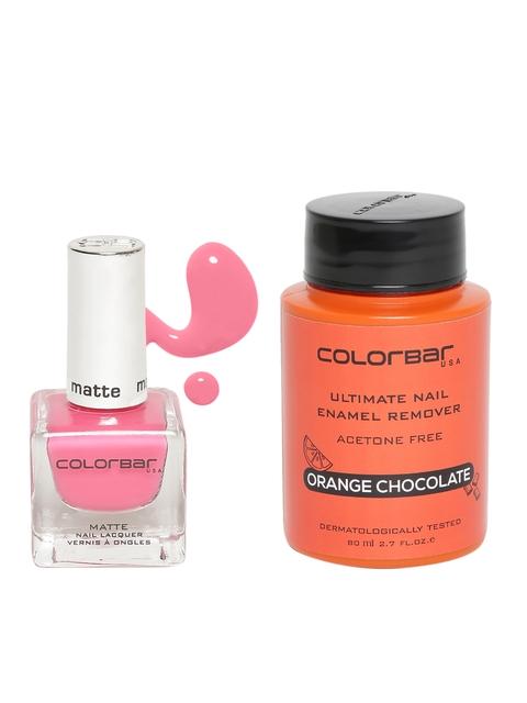 Colourbar Set of 2 Nail Enamel & Remover