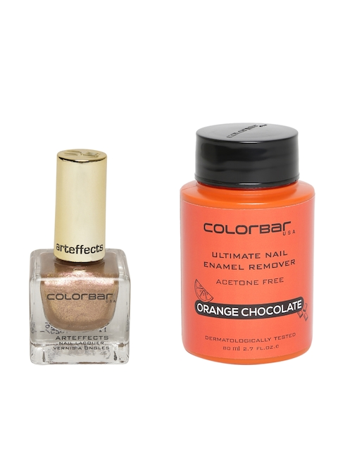 Colorbar Arteffects Rose Gold Luxe Nail Lacquer & Enamel Remover Set