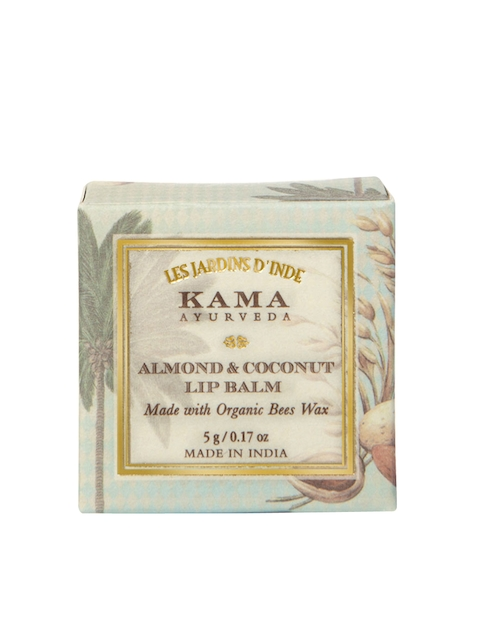 KAMA AYURVEDA Unisex Almond And Coconut Lip Balm