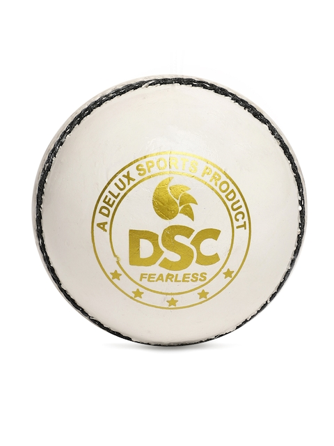 DSC White Leather Swing Cricket Ball
