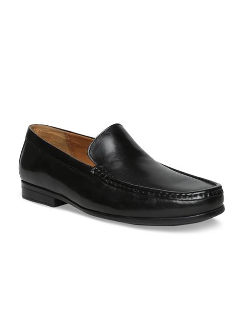 Clarks Men Black Leather Formal Loafers