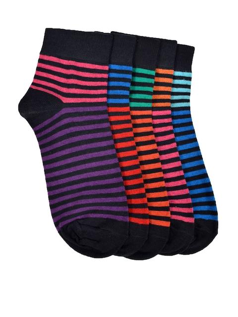 MARC Pack of 5 Ankle-Length Socks
