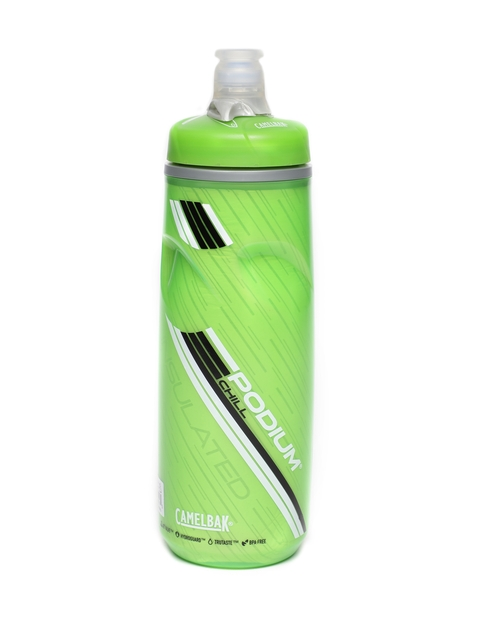 Camelbak Unisex Green Printed Podium Chill Water Bottle 600 ml